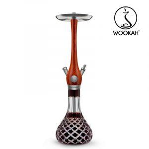 Wookah Mastercut Check Brown Padouk Shisha Cyprus